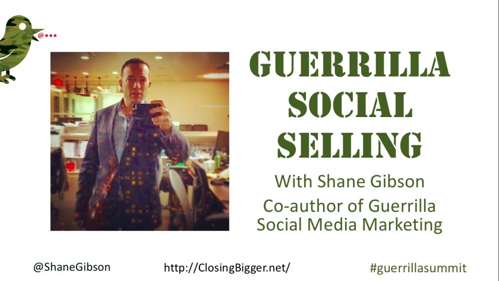 Guerrilla Social Selling