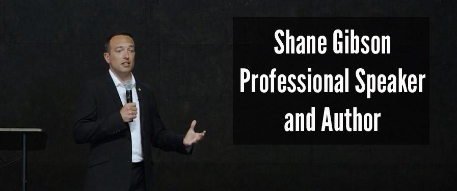 Social Selling Speaker Shane Gibson